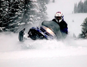High Adventure Breckenridge Snowmobiling