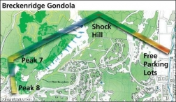 Breckenridge Goldola Map
